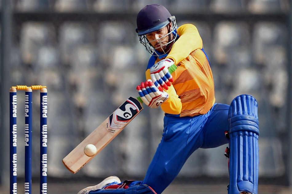 mayank aggarwal is hitting the ball