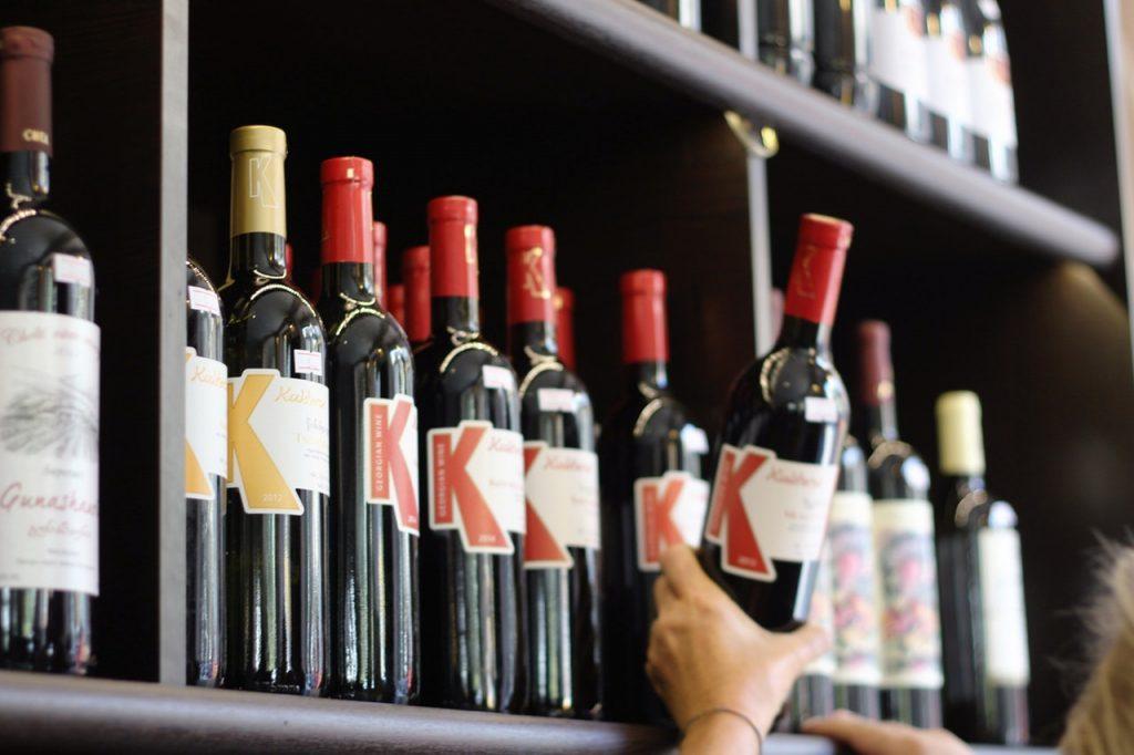 store wine on right temperature
