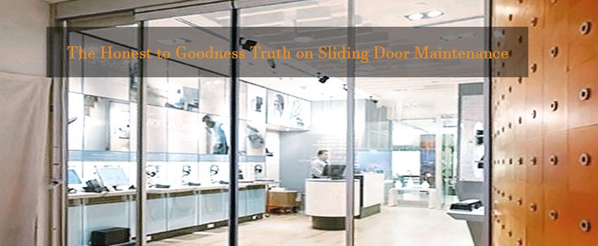 Sliding glass door service