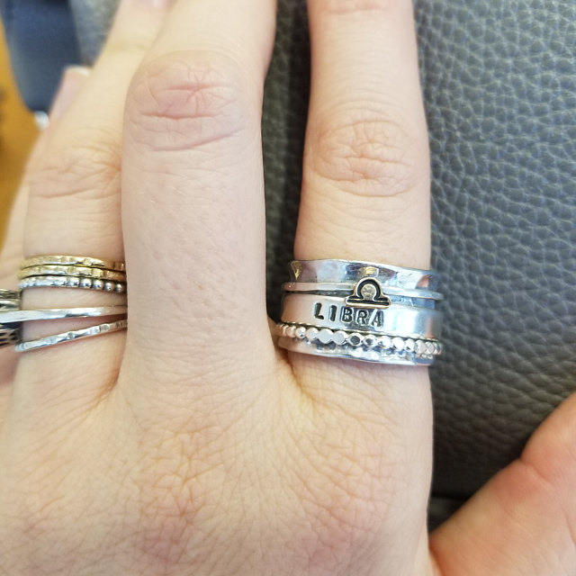 zodiac sign rings on mother's day