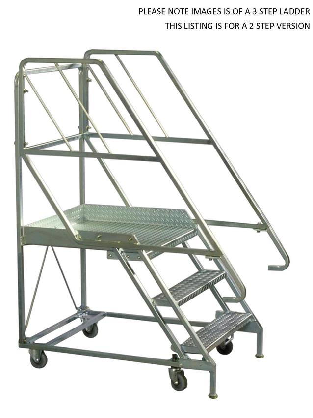 Mobile Platform Step Ladders - Steps - 2