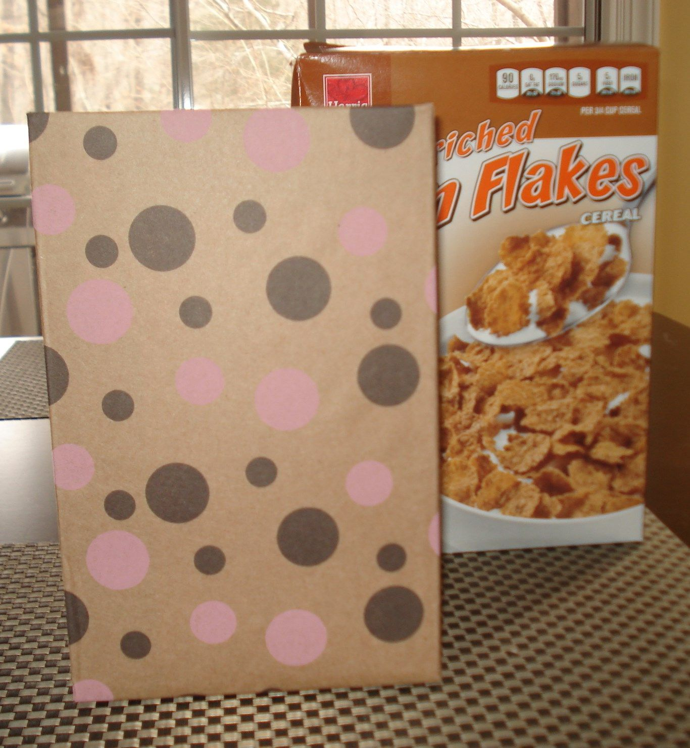 plain cereal box