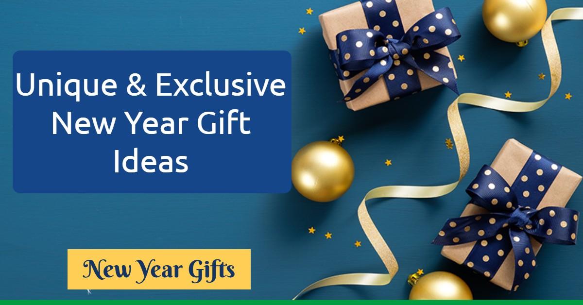 New year flowers- Unique and Exclusive New Year Gift Ideas